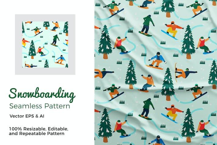 Thumbnail for Snowboarding Pattern