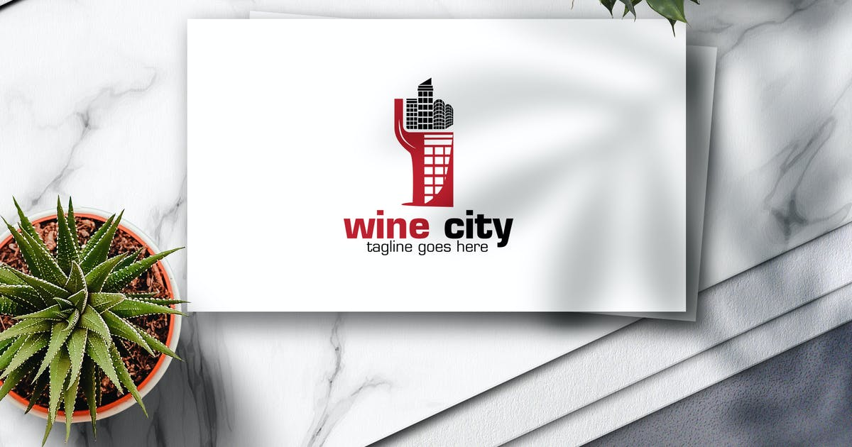 Download Wine City Logo by Voltury