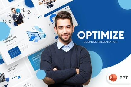 Optimize Business PowerPoint Template