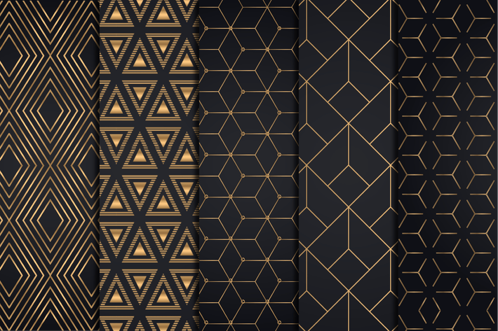 Thumbnail for Golden Geometric Backgrounds