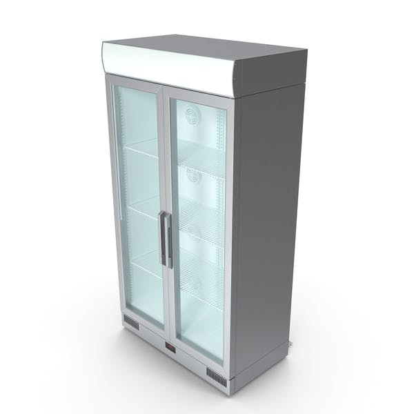 Thumbnail for Metal Commercial Fridge
