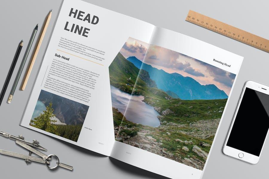 Magazine Template 11 - TH