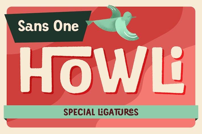Thumbnail for Howli Sans One