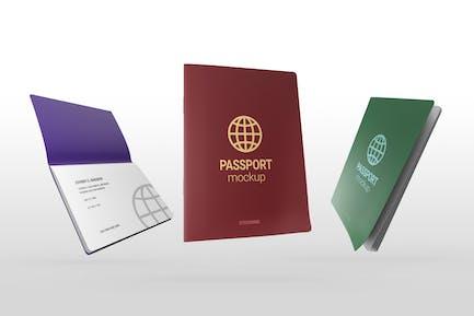 Passport Document Mockup