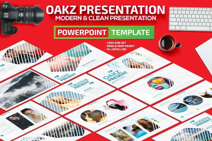 Thumbnail for Презентация Oakz Powerpoint