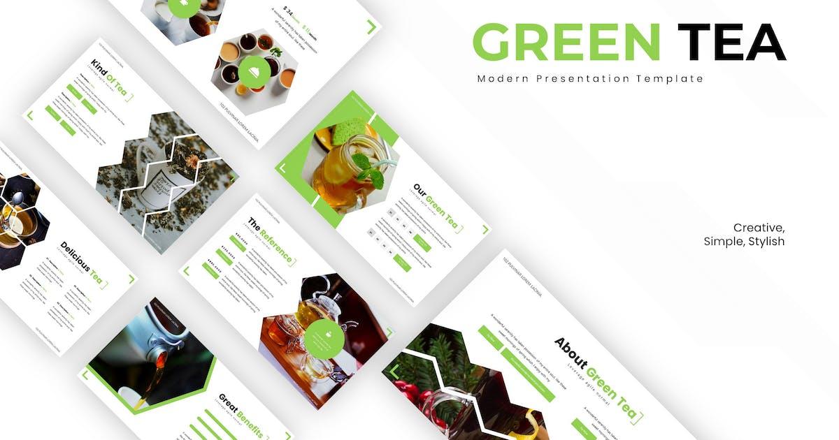 Download Green Tea - Keynote Template by karkunstudio