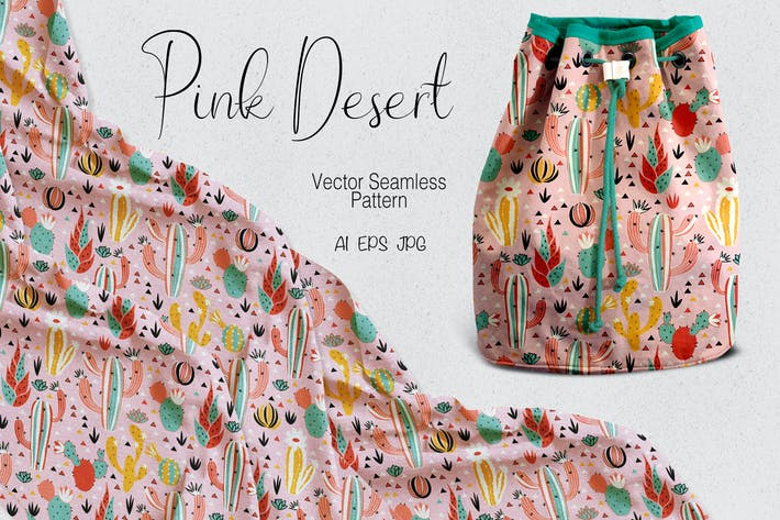 Cover Image For Pink Desert