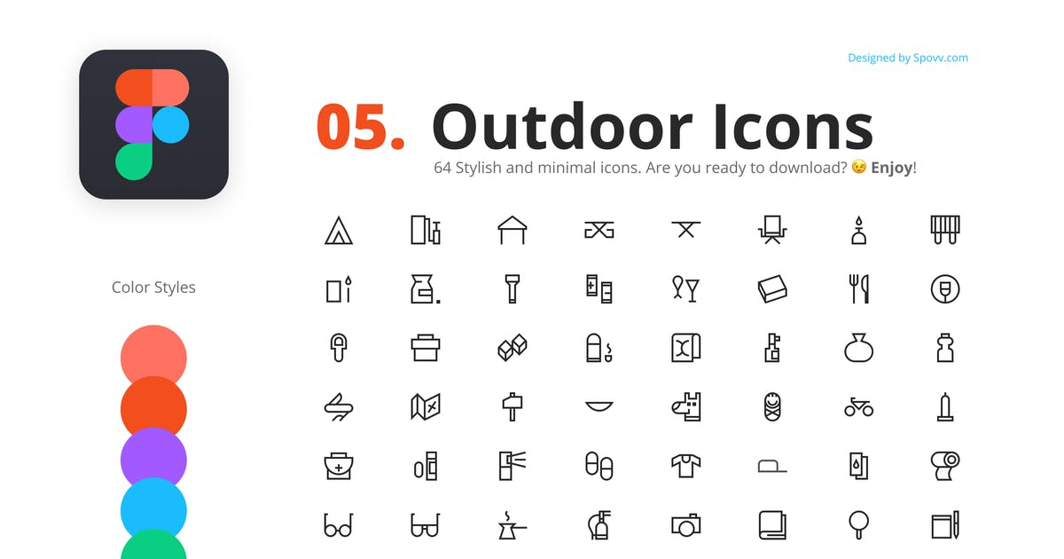 Download 64 Outdoor Icons by spovv