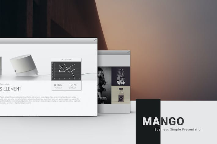 Thumbnail for Mango Simply Presentation Template