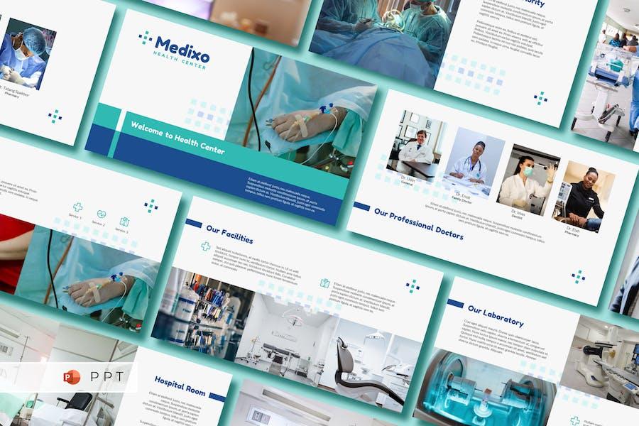 MEDIXO - Шаблон медицинской точки питания