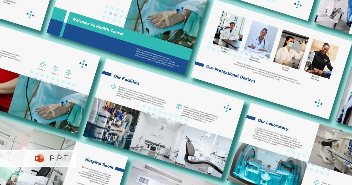 Download MEDIXO - Medical Power Point Template by inipagi