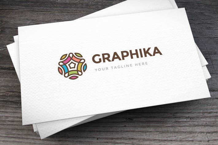 Thumbnail for Graphicated Abstract Logo Template