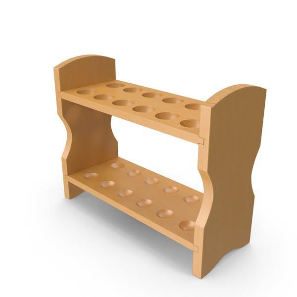 Thumbnail for Wooden Test Tube Rack