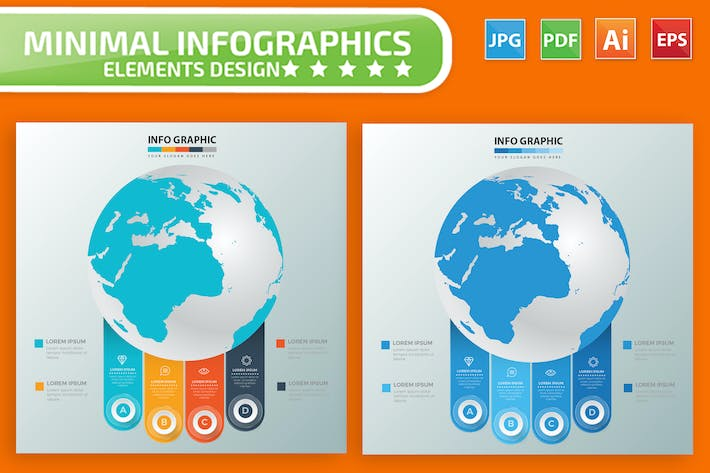 Thumbnail for Global Infographic Elements Design