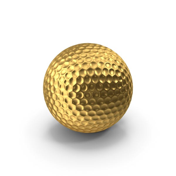 Golf Ball Gold