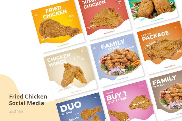 Thumbnail for Social Media Kit Fried Chicken