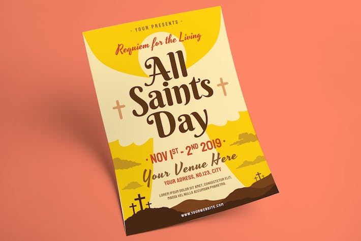 Thumbnail for All Saints Day Flyer