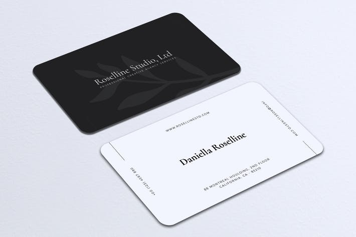 Thumbnail for Minimalist Business Card Vol. 18
