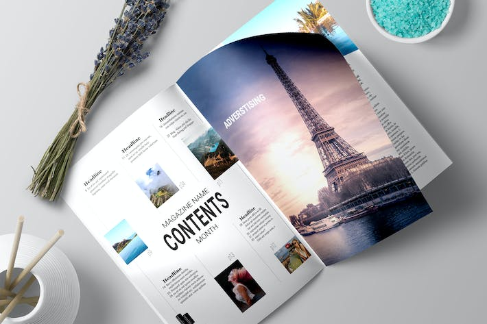 Thumbnail for Magazine Template 1 - TH