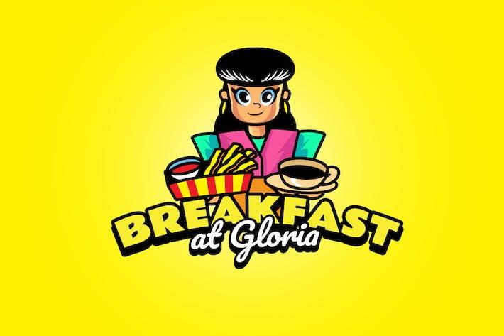 breakfast - Mascot Logo