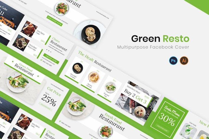 Thumbnail for Capa Verde para Facebook Resto