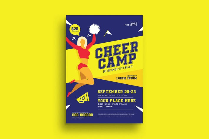 Thumbnail for Cheer Camp Flyer