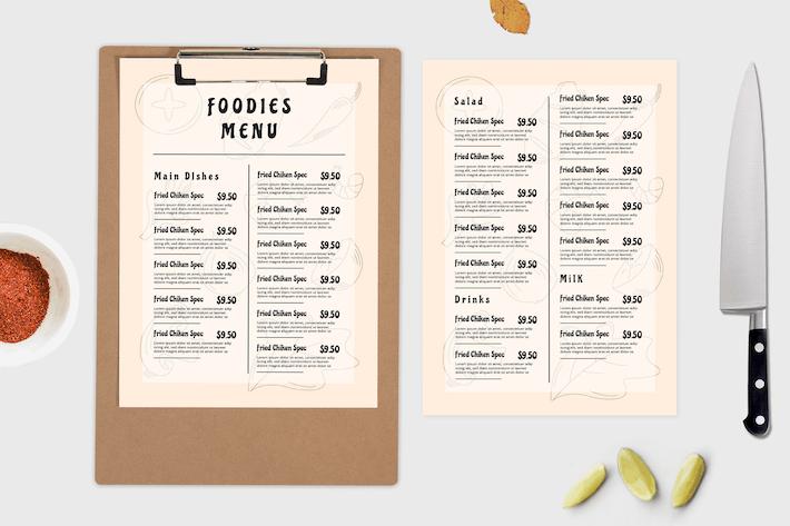 Foodtruck – Food Menu Template