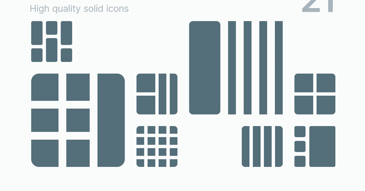 Download Grid Icons by polshindanil
