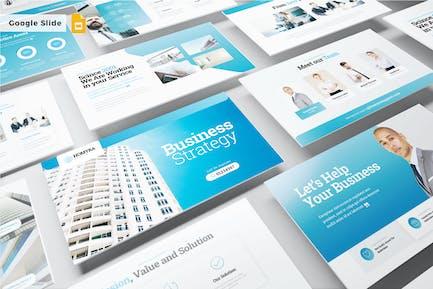 BUSINESS STRATEGY - Google Slide V522