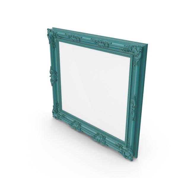 Großer Bilderrahmen, Grün, Blau