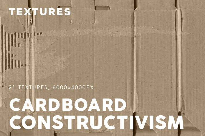 Constructivism Cardboard Textures