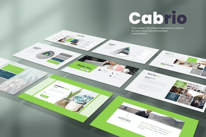 Thumbnail for Cabrio Powerpoint Presentation