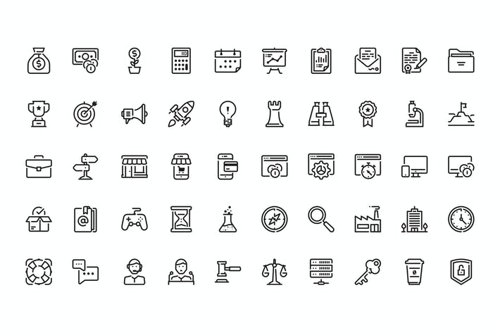 Thumbnail for 50 Startup icons