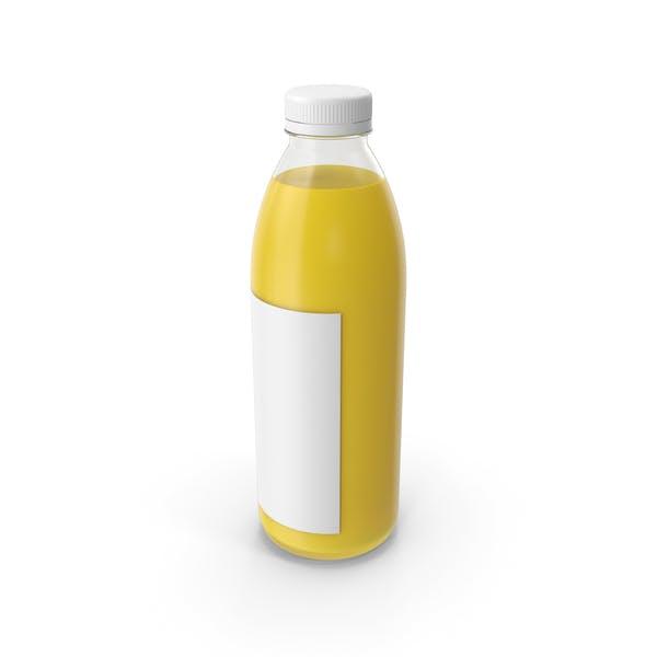 Yellow Juice Bottle
