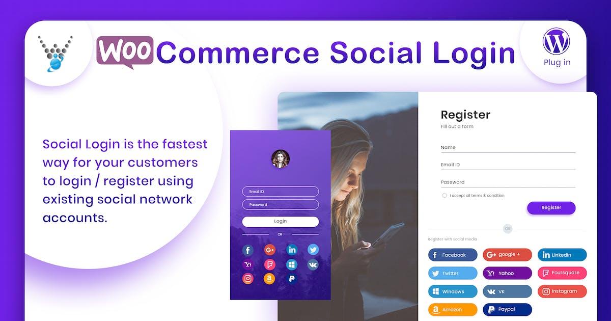 Download WooCommerce Social Login - WordPress plugin by wpweb