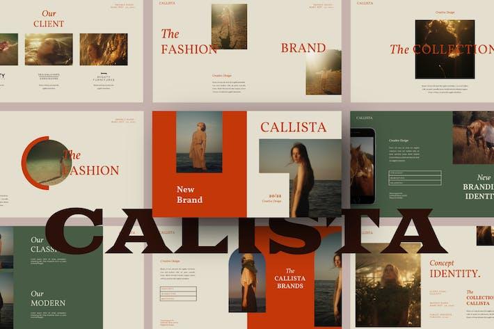 Callista Powerpoint Template - LS
