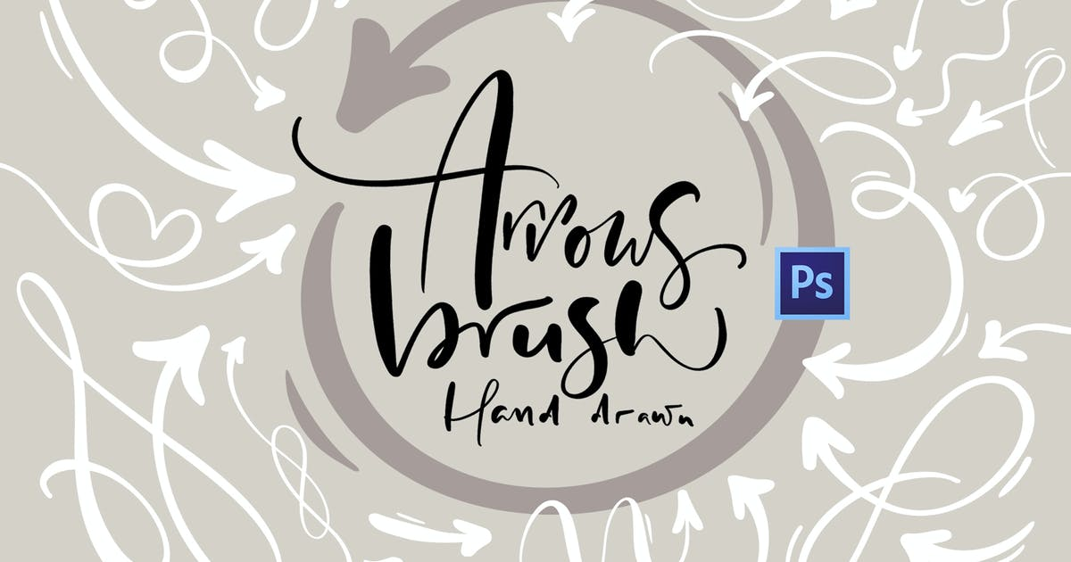 Download Hand drawn arrows brush by timonko