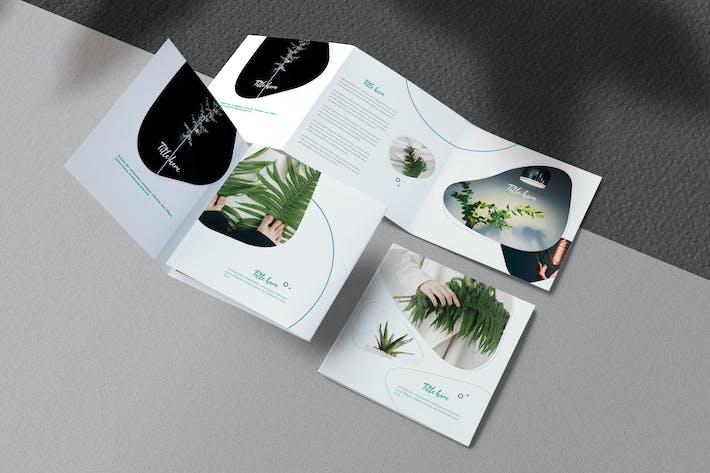 Square Minimal Brochure