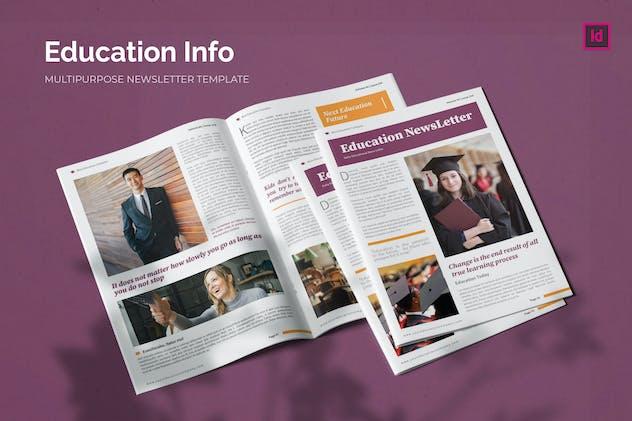 Education Info - Newsletter Template