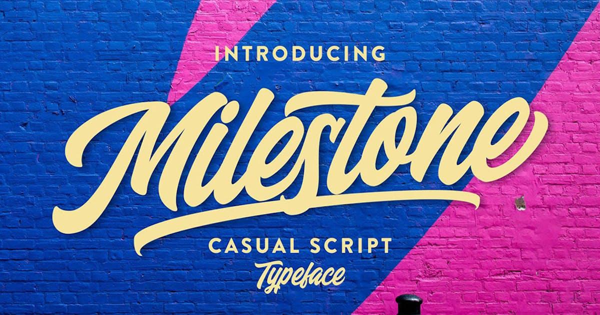 Download Milestone Casual Script by cruzine