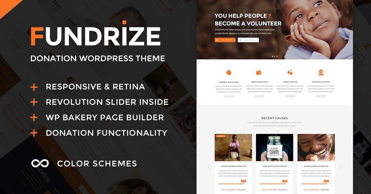 Download Fundrize - Donation & Charity WordPress Theme by ninzio
