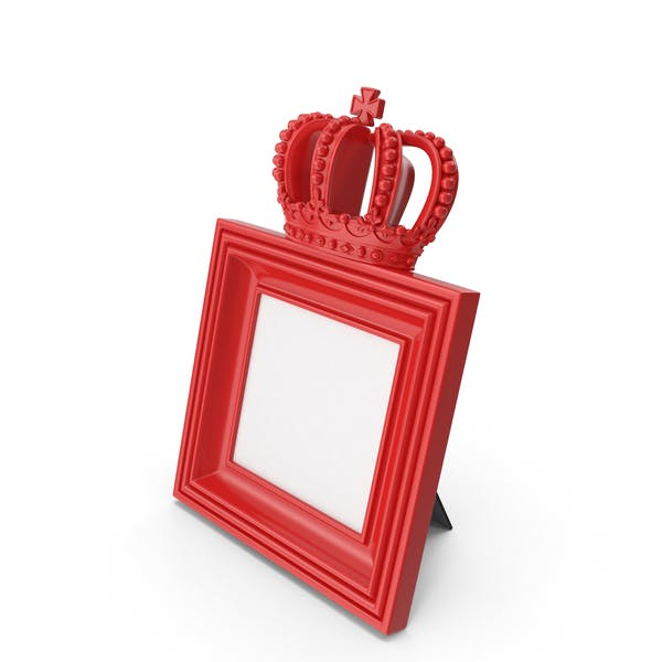 Thumbnail for Baroque Photo Frame Red