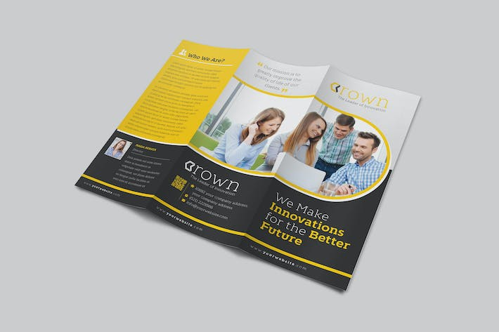 Crown Corporate Trifold