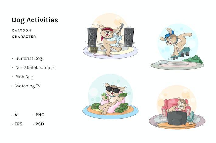 Thumbnail for Dog Cartoon Activities V.3