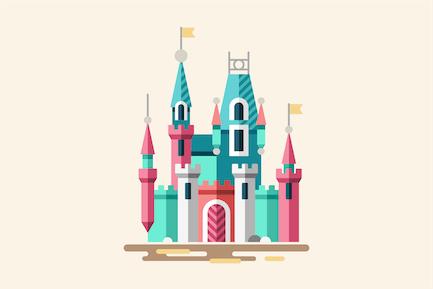 Fabulous Palace Magical Castle