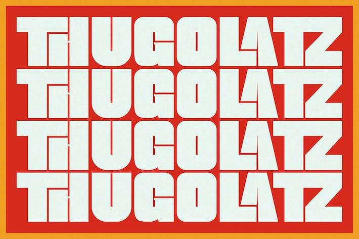 Thugolatz - Ligature étendue sans