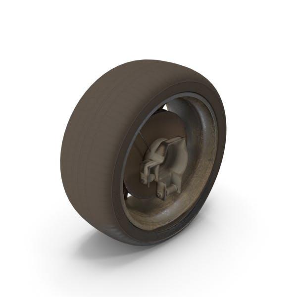 Thumbnail for Abandoned Car Flat Tire