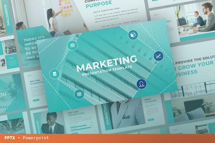 Marketing Presentation Template