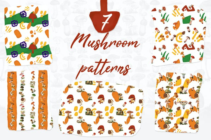 Thumbnail for 7 Mushroom Patterns