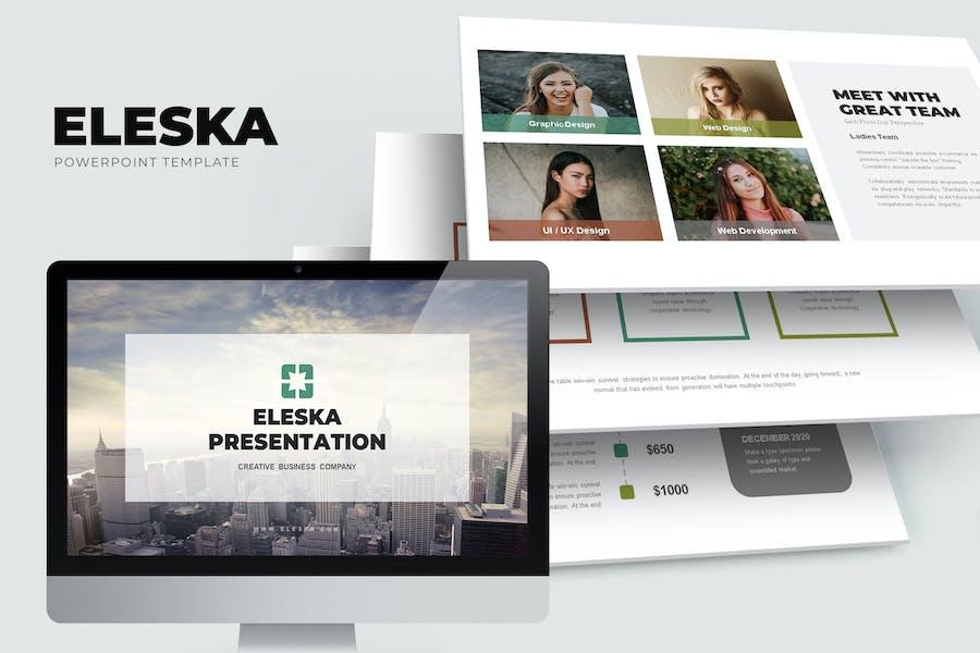 Eleska : Sales & Marketing Pitch Powerpoint